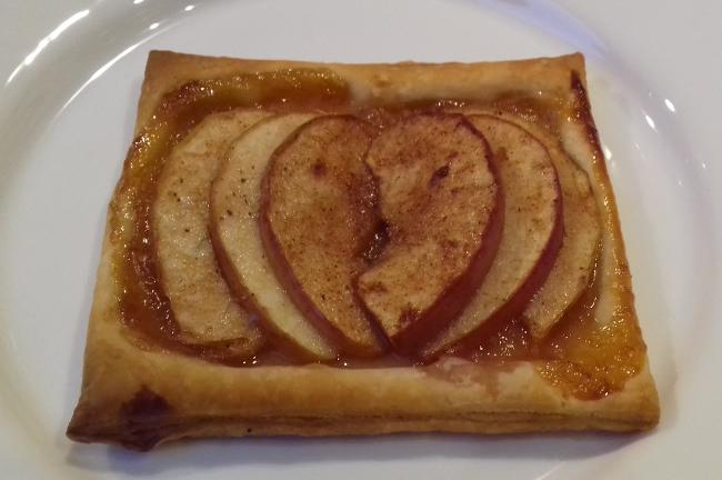 almás süti leveles tésztából
