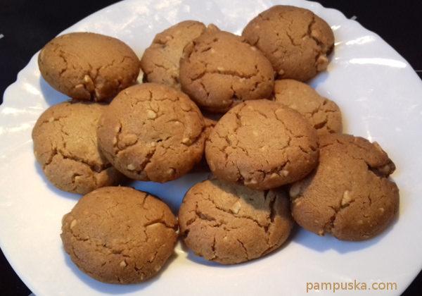 amerikai mogyoróvajas csokis keksz