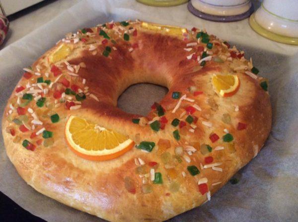 roscón de reyes spanyol kalács recept