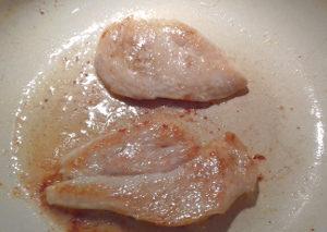 barackos csirkemell előkészítése