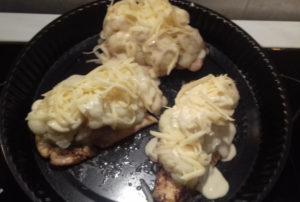 dubarry csirkemell sütés előtt