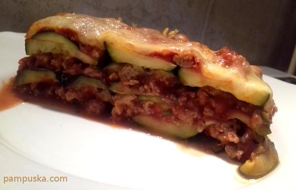 olaszos rakott cukkini darált hússal