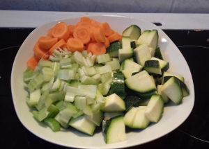 minestrone leves zöldségek