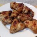 gyömbéres kólás csirkeszárnyak