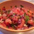 mexikói paradicsom salsa, pico de gallo