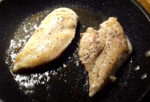 csirkemell sütés