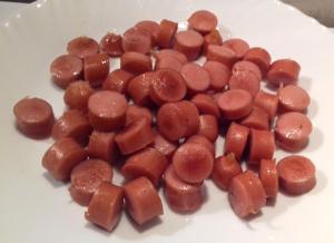 pirított virsli frankfurti leveshez