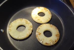 ananász grillezés