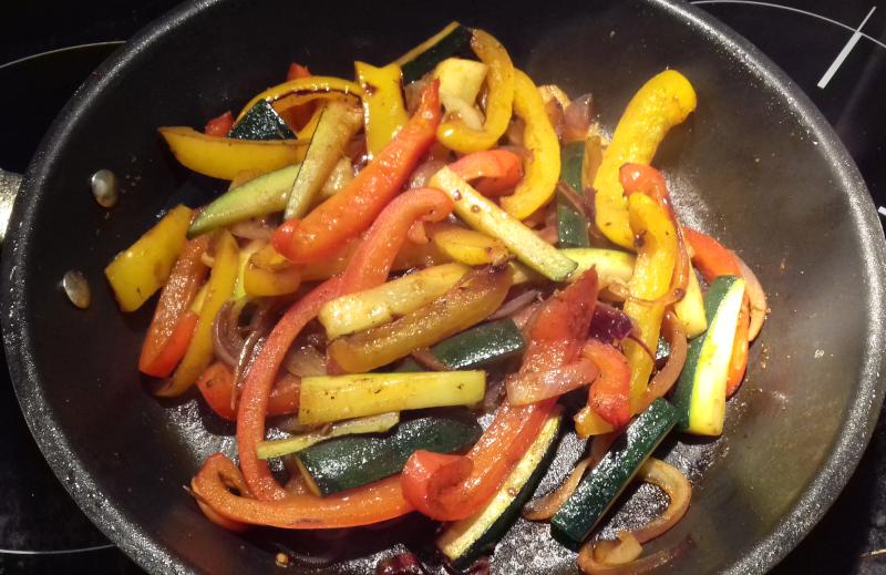 grill zöldségek