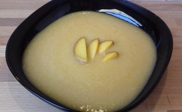 paleo hideg őszibarack krémleves főzés nélkül