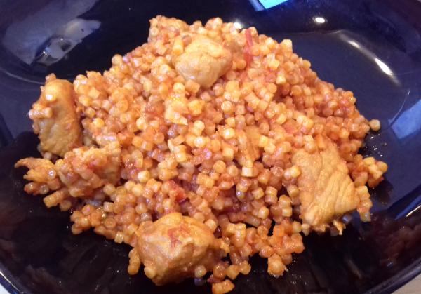 hagyományos tarhonyás hús lapockából
