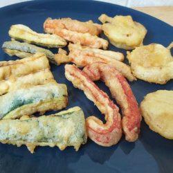 zöldség tempura