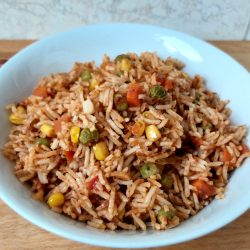fűszeres mexikói rizs