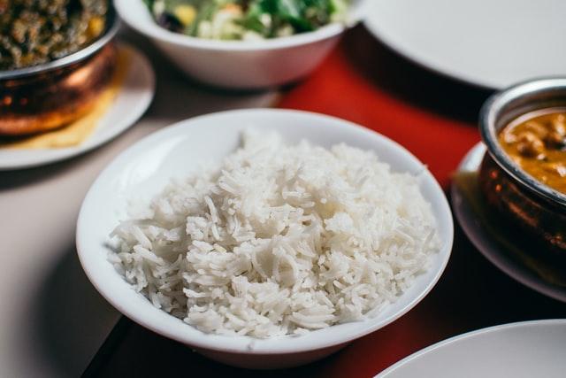főtt rizs