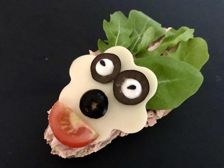 szilveszteri szendvics, arc