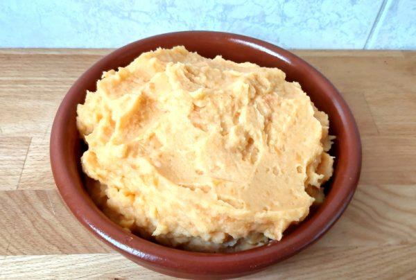 sütőtökös krumplipüré